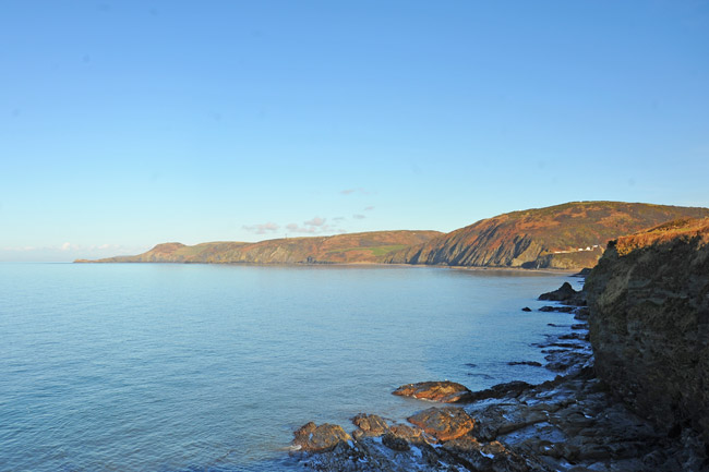 View from the All Wales Coast Path