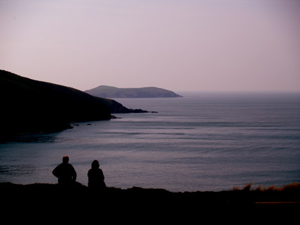 Stunning Sunset Views from Mwnt