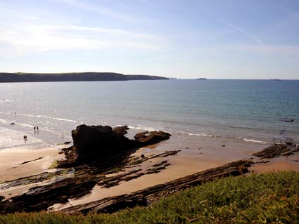 View from Coastal Path at Broad Haven