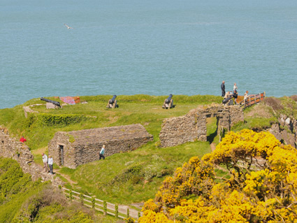 General view of Fishguard Fort