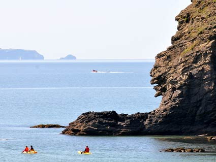 Kayaking from Nolton Haven