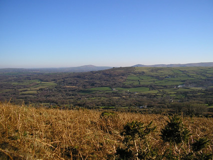 View of the Preseli Hills