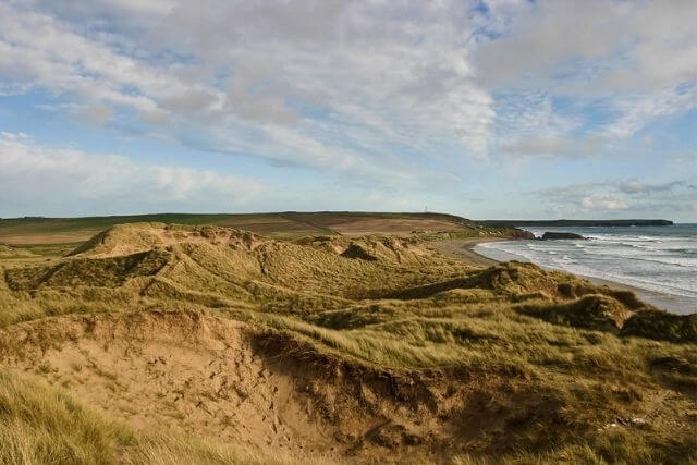 Freshwater West where Dobby's Grave is