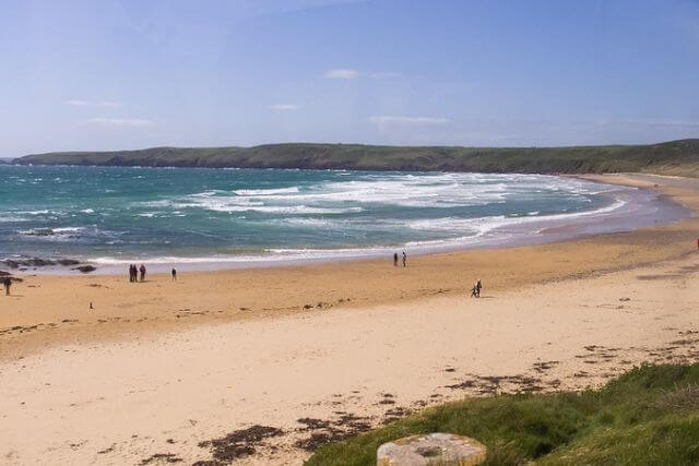 Views of Freshwater West beach