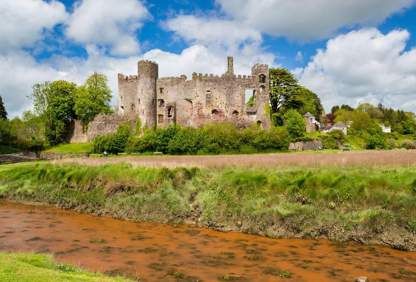 Castles in Carmarthenshire