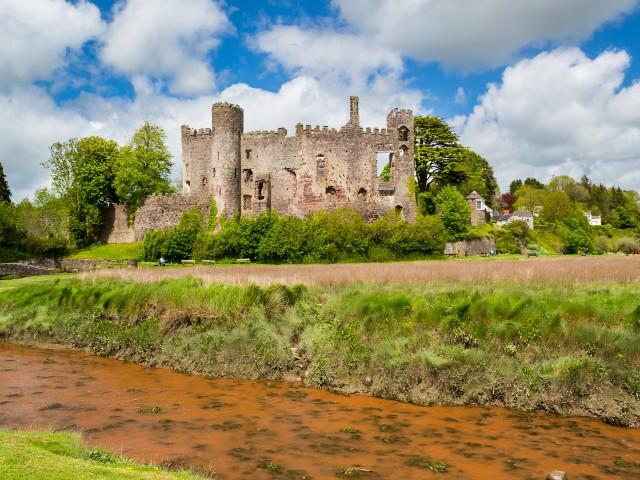 Laugharne Castle - Castles in Carmarthenshire