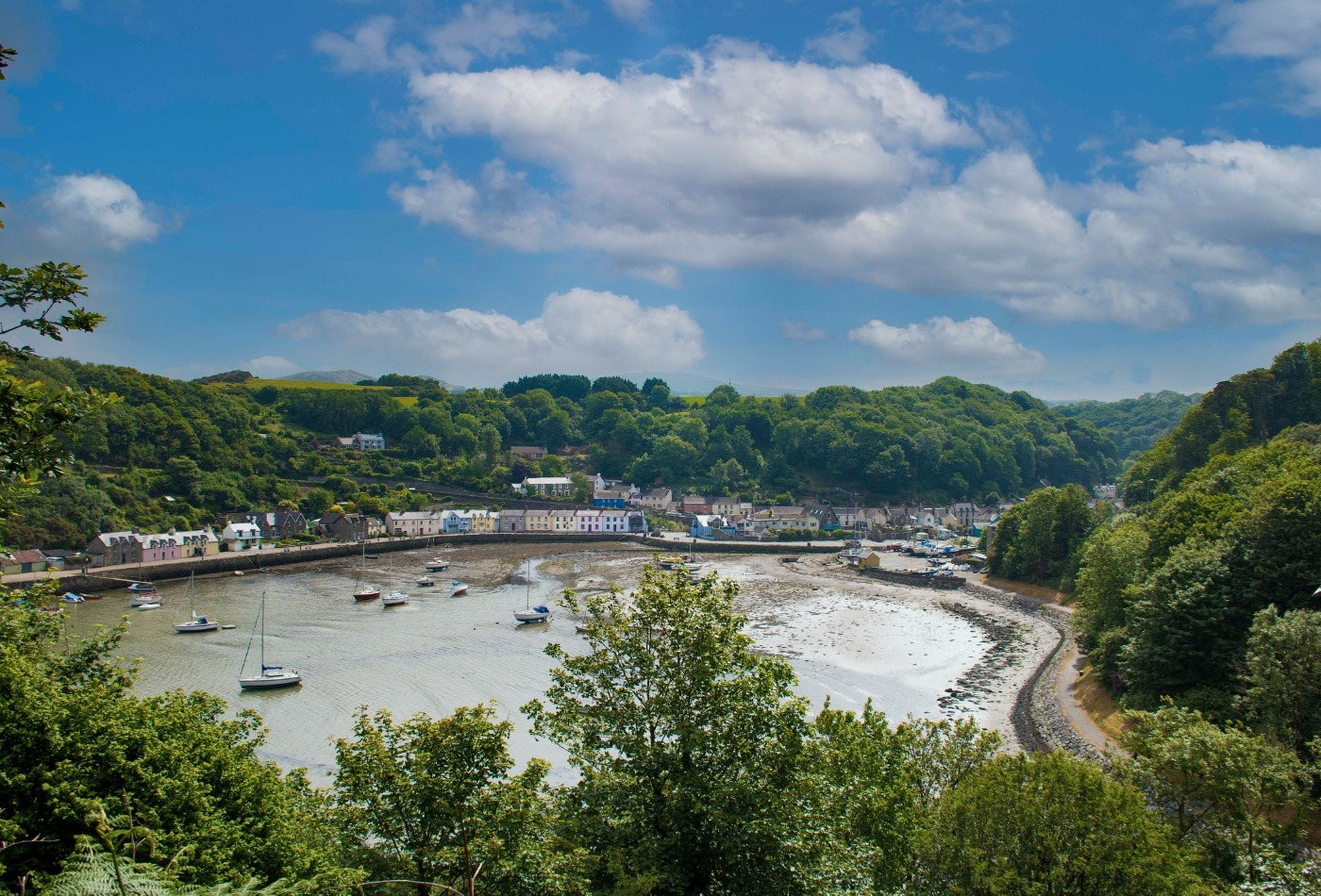 Lower Town Harbour Fishguard