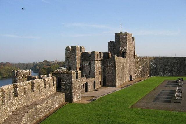 Walls of Pembroke Castle