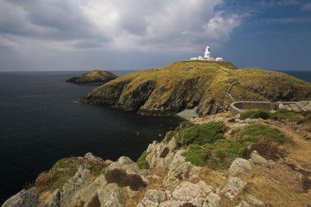 White Lighthouse along the Pembrokeshire Coast Path
