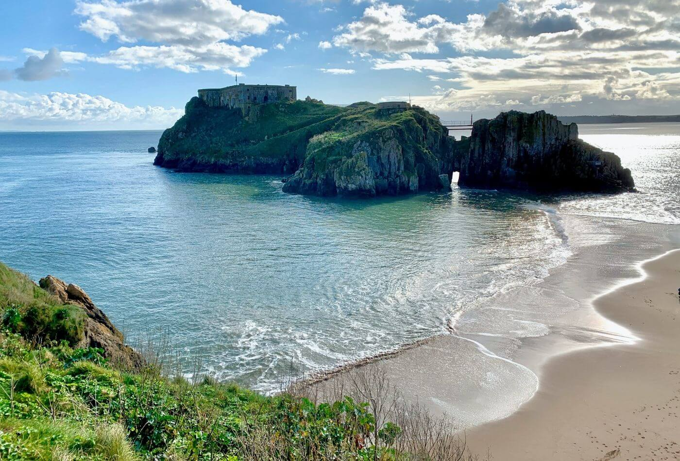 Pembrokeshire coastal scenery