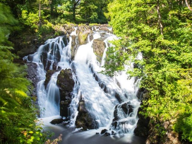 Swallow Falls - waterfalls in Wales