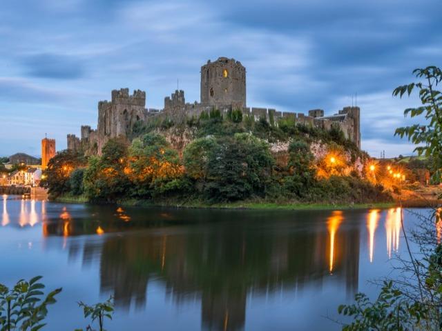 Pembroke Castle - Castles in Pembrokeshire